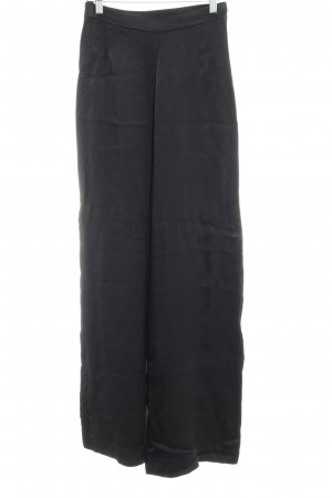 H&M Pantalon palazzo noir style décontracté