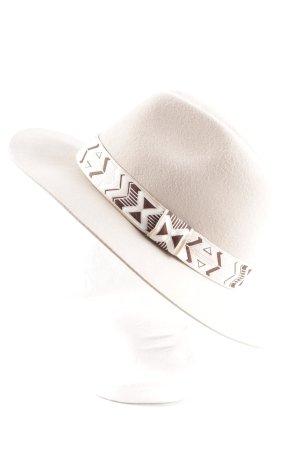H&M Panama Hat multicolored acid wash