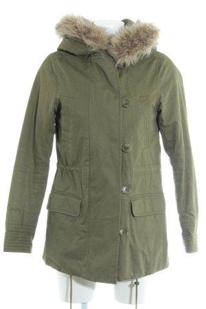 H&M Parka olivgrün-beige Casual-Look
