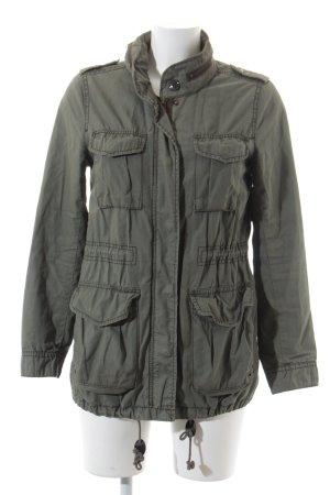 H&M Parka olivgrün Casual-Look