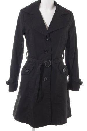 H&M Parka schwarz klassischer Stil