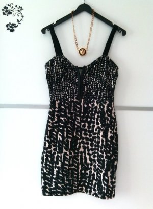 H&M Party Leo Kleid Gr. 36