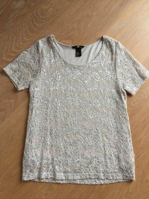 H&M Party-Shirt Gr. XS