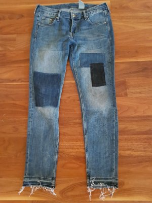 H&M Patchwork Jeans
