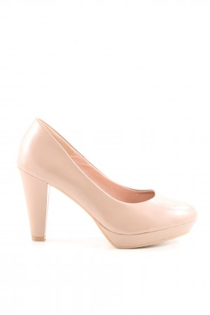 H&M Peep Toe Pumps nude business style