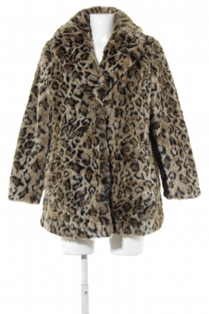 H&M Pelzmantel Animalmuster Animal-Look