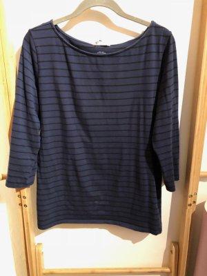 H&M Pima Cotton Stripe Top, Gr. L (40)