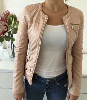 H&M Giacca in pelle color oro rosa