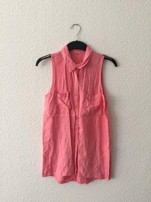 H&M pinke ärmellose Bluse S