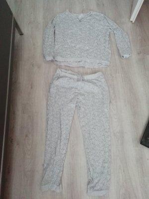 H&M PJ Pyjama Schlafanzug Katzen Cats Allover