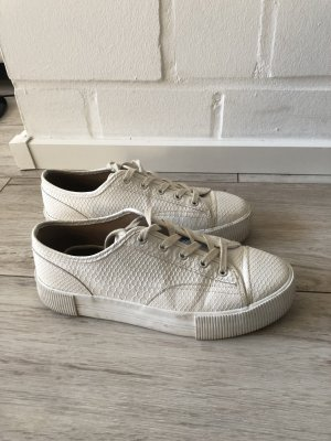 H&M Lace-Up Sneaker white