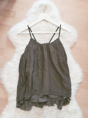 H&M Plissee Chiffon Top Blogger Camisole Gr.XS/S