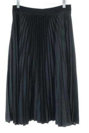 H&M Pleated Skirt black elegant