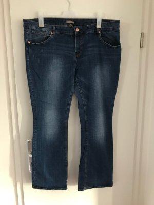 H&M Plus Size Jeans Gr.54 bootcut blau Hose