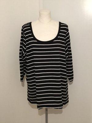 H&M Plus Size Pullover Gr.3XL Gr.50/52 Shirt Streifenshirt