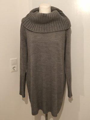H&M Plus Size Pullover Gr.XL Gr.46 grau Rollkragenpullover