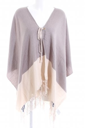 H&M Poncho multicolored casual look