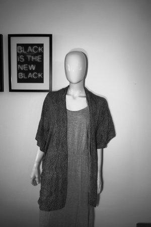 H&M Poncho Sommer Abend One Size Leicht locker Blogger Style