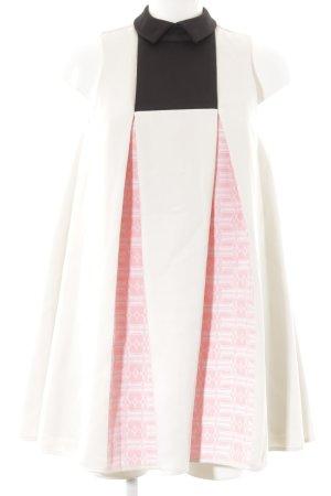 H&M Premium A-Linien Kleid grafisches Muster Elegant