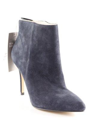 H&M Premium Booties dunkelblau Elegant