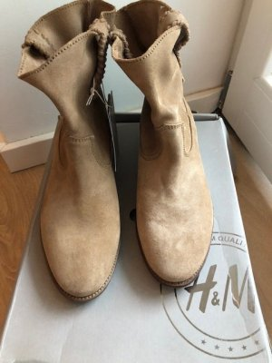 H&M Premium Low boot multicolore daim