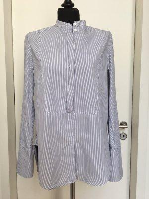 H&M Premium lange Frackhemd, Gr. 36, Stehkragen, 100% BW