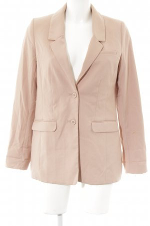 H&M Premium Long-Blazer apricot-lachs Business-Look