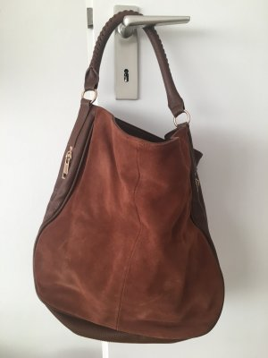 H&M Premium Hobos brown leather