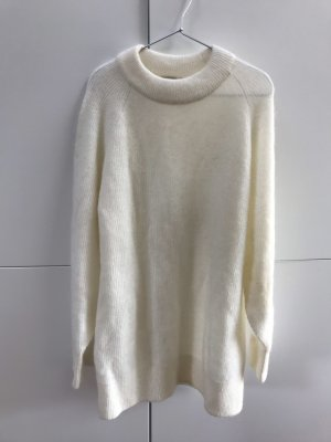 H&M Premium Quality Langer Pullover Oversize aus Wollmix Mohair Wolle Gr. 34 / XS - NEU!
