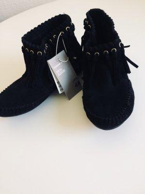 H&M Premium Wildleder Boots [37] NEU