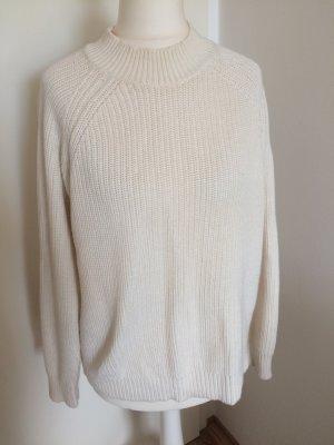 H&M Pulli 36 S neu creme Pullover Winter beige