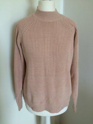 H&M Pulli 36 S neu Pullover Puder rosa altrosa Herbst Winter