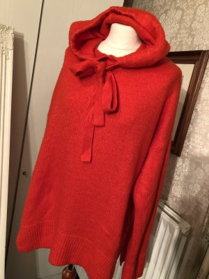 H&M Hooded Sweater red-bright red