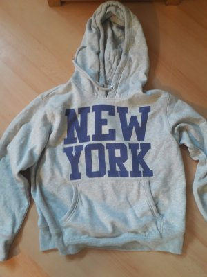 H&M Hooded Sweater light grey