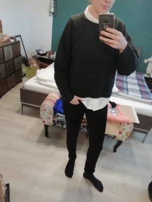 H&M Pulli grau Pullover Knit Strick