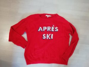 H&M Pulli Pullover Knit Strick Statement Apres Ski