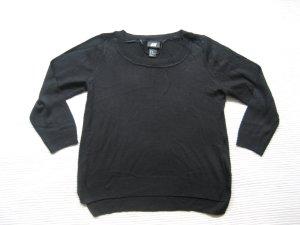 H&M pulli schwarz leicht gr. xs 34 neu