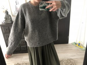 H&M Pull oversize gris