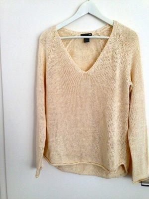H&M Pullover beige Größe S