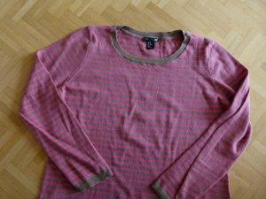 H&M Pullover beige pink Gr. M