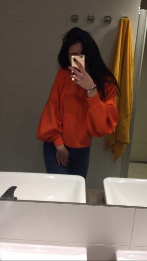 Woman Collection H&M Poncho orange-neon orange