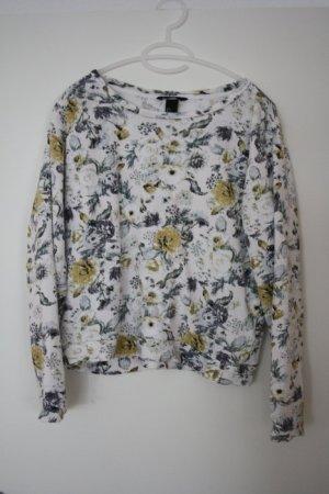 H&M Pullover geblümt