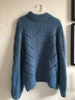 H&M Pullover gestrickt blau S