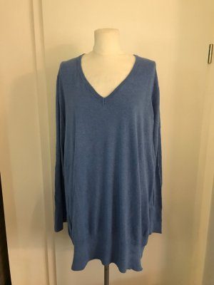 H&M Pullover Gr.3XL Gr.52 Plus Size blau
