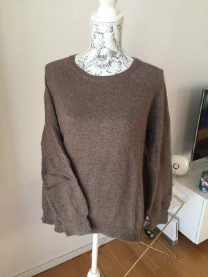 H&M Pullover Gr L braun