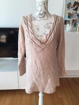 H&M Pullover Gr S oversize beige