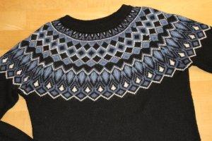 H&M Norwegian Sweater multicolored mixture fibre