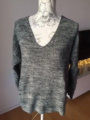H&M Pullover grau meliert Gr L wie neu