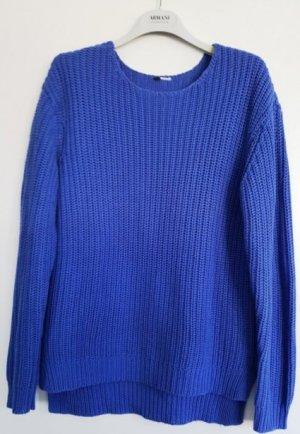 H&M Pullover, Grobstrick, Blau, Gr. S, wie neu!