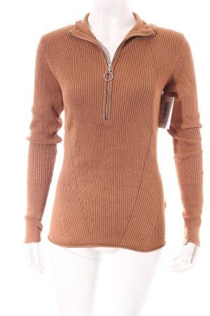 H&M Pullover hellbraun Street-Fashion-Look